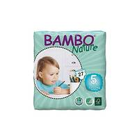 Bambo Nature Baby Diapers Junior 12-22KG 27 Pieces