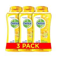 Dettol Shower Gel Fresh 250 Ml X2 Pieces