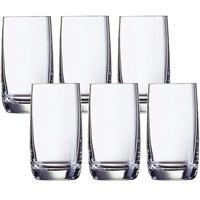 لومينارك كأس زجاجي فيني سعة 300 ملليلتر 6 قطع