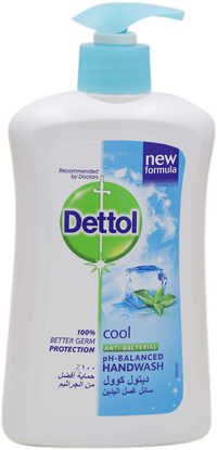 Dettol Cool Antibacterial Ph-Balanced Hand Wash 400ml