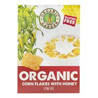 Organic Larder Organic Cornflakes With Honey 300g