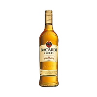 Bacardi Gold Rum 40%V Alcohol 75CL