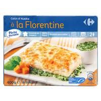 Carrefour Florentine Frozen Fish Meal 400g