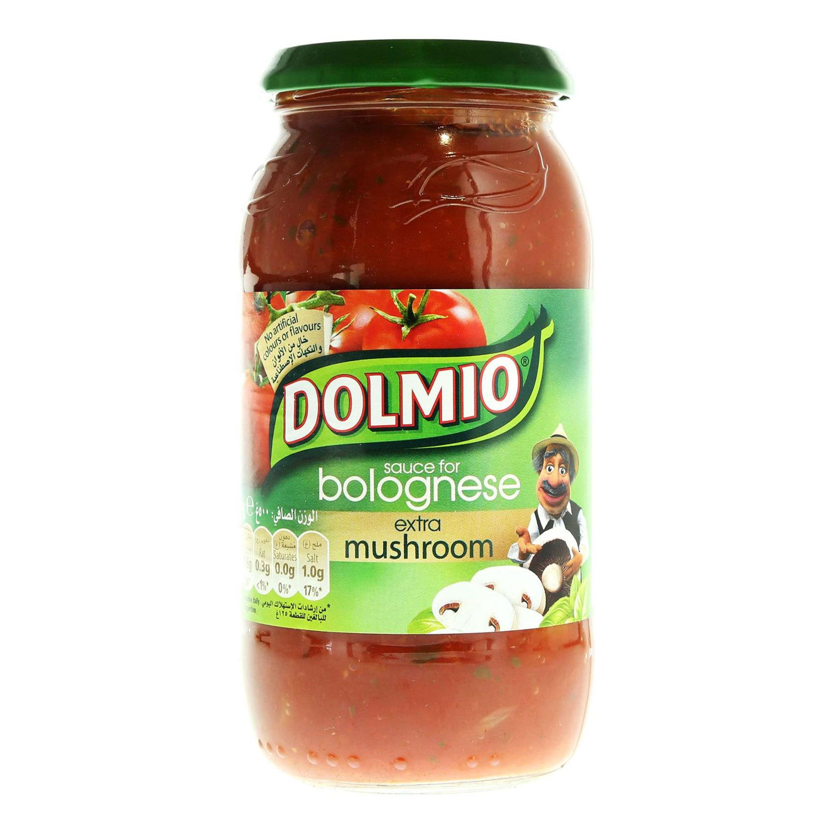 DOLMIO MUSHROOM SAUCE 500 GR