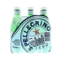San Pellegrino Carbonated Natural Mineral Water 500mlx6