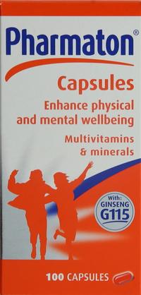 Pharmaton Multivitamins & Minerals Capsules x100