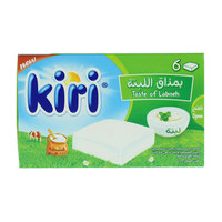 Kiri Spreadable Creamy Cheese with Labneh 108g