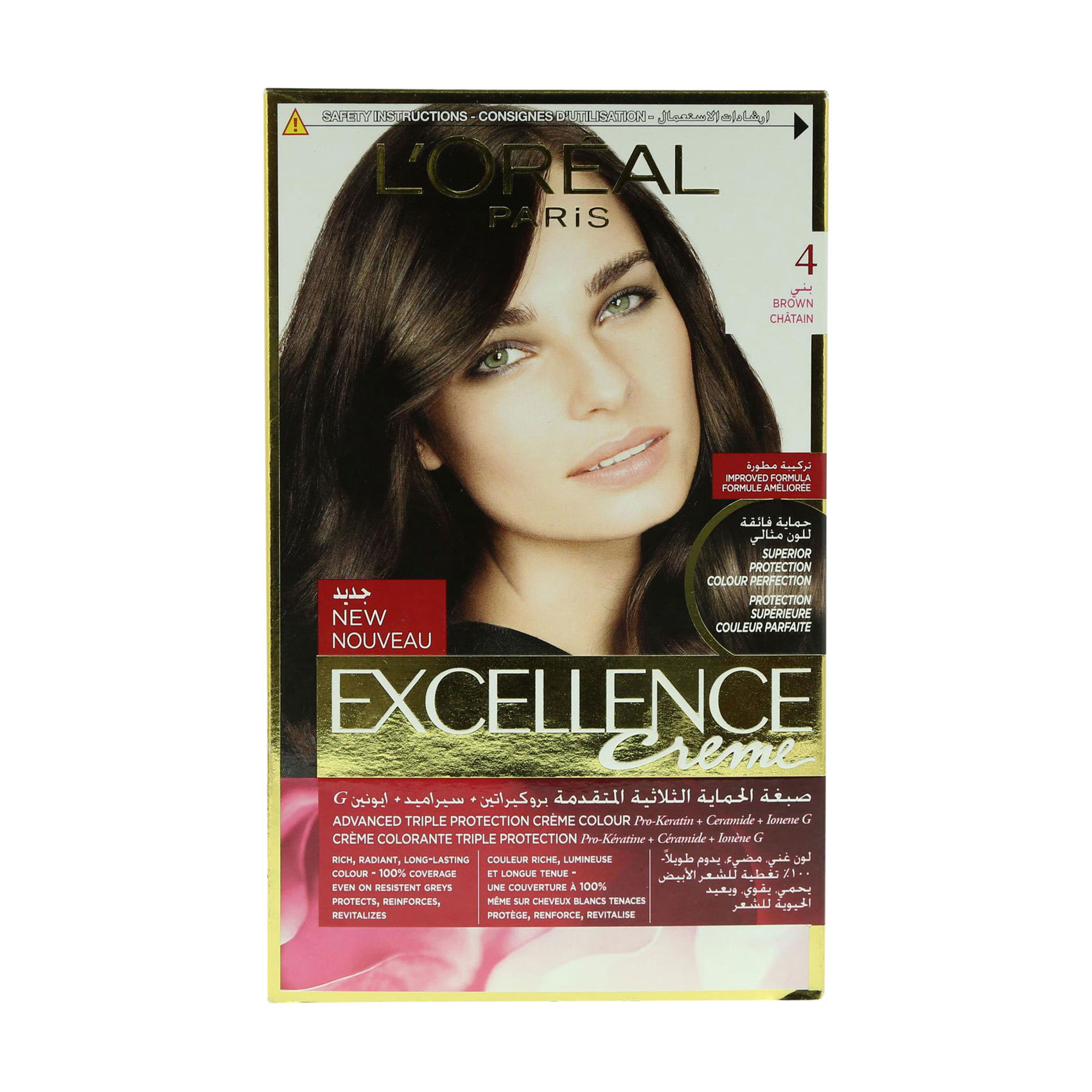 EXCELLENCE 4 NATURAL BROWN