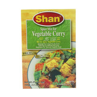 Shan Spice Mix for Vegetable Curry 60g