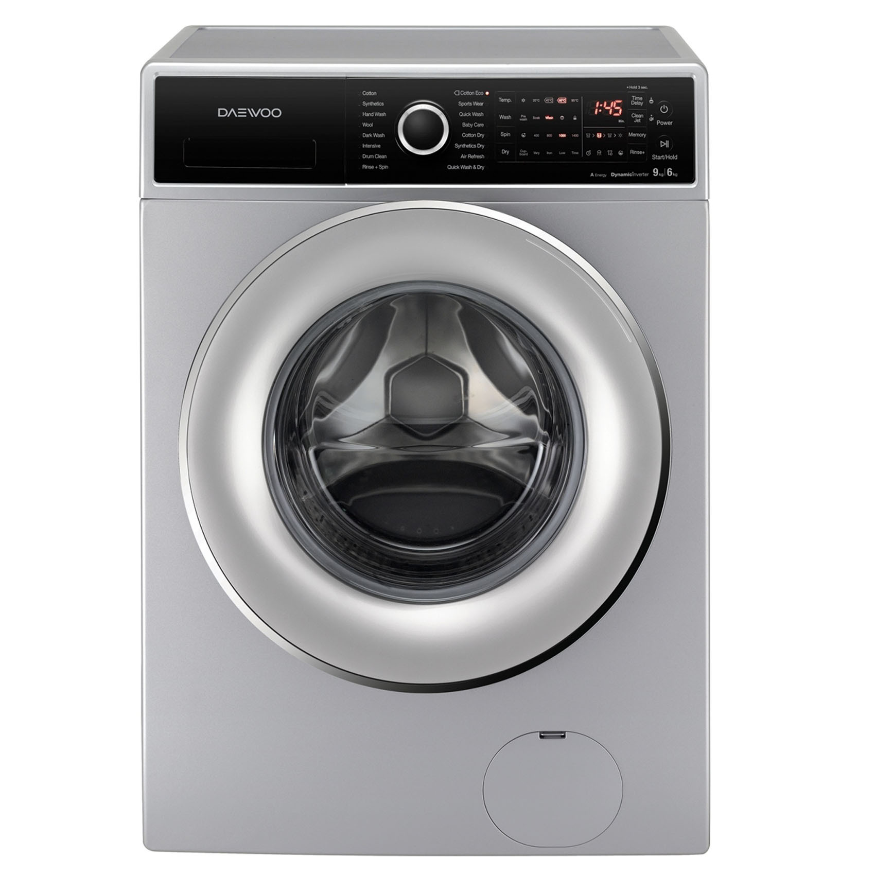 Buy Daewoo 10KG Front Load Washing Machine DWD-ELD1433 ...