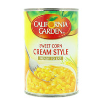 California Garden Cream Style Corn Golden Sweet 418g