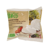 Carrefour Bio Mozzarella From Pasteurized Cows Milk 125 g