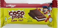 Kellogg's Coco Pops Cake Vanilla 40g