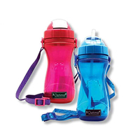 Optimal Silicone Bottle With Straw 500ML
