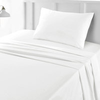 Tendance's Fitted Sheet Single White 99X193