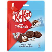Nestlé Kitkat Mini Moments Cookies and Cream 140g
