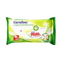Carrefour Multi-Use Antibacterial 60 Sheets