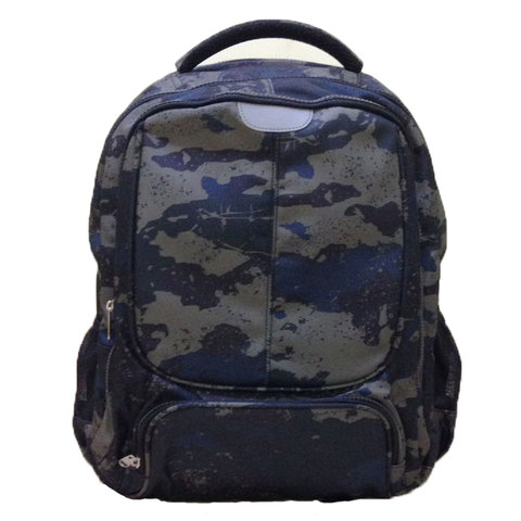 Wires Back Pack 19Inch With Laptop Sleeve + Pencil case