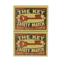 The Key Safety Matches 40's x10