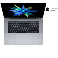 "Apple MacBook Pro MPTT2 Touch Bar i7 16GB RAM 512GB SSD 15.4"" Gray English/Arabic Keyboard"