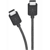 Belkin Cable Type-C Mixt 3A 1.8 Meter Black