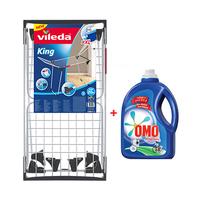Vileda King Dryer + Omo Liquid Detergent 1.5L Free