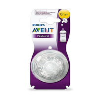 Philips Avent Natural New Born Teats 1 Hole 0 Months+