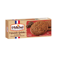 St Michel 9 Grandes Galettes Chocolate Butter Biscuits 150GR