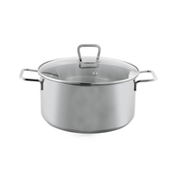 Bemus Stainless Steel Casserole Anet  28X18CM 11L