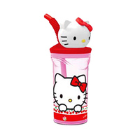 Disney Stor Tumbler 3D Figurine Hello Kitty