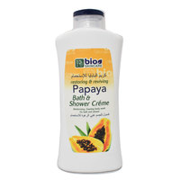 Bio Skincare Papaya Bath & Shower Creme 750ml