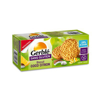 Gerble Biscuit Cacao & Citron Gluten Free 120GR