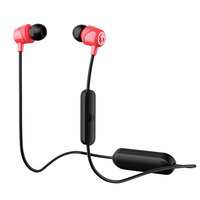 Skullcandy JIB Wireless In-Ear Earbuds S2DUW-K010 Black Red With Mic
