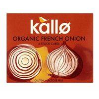 Kallo Organic French Onion Cubes 66g