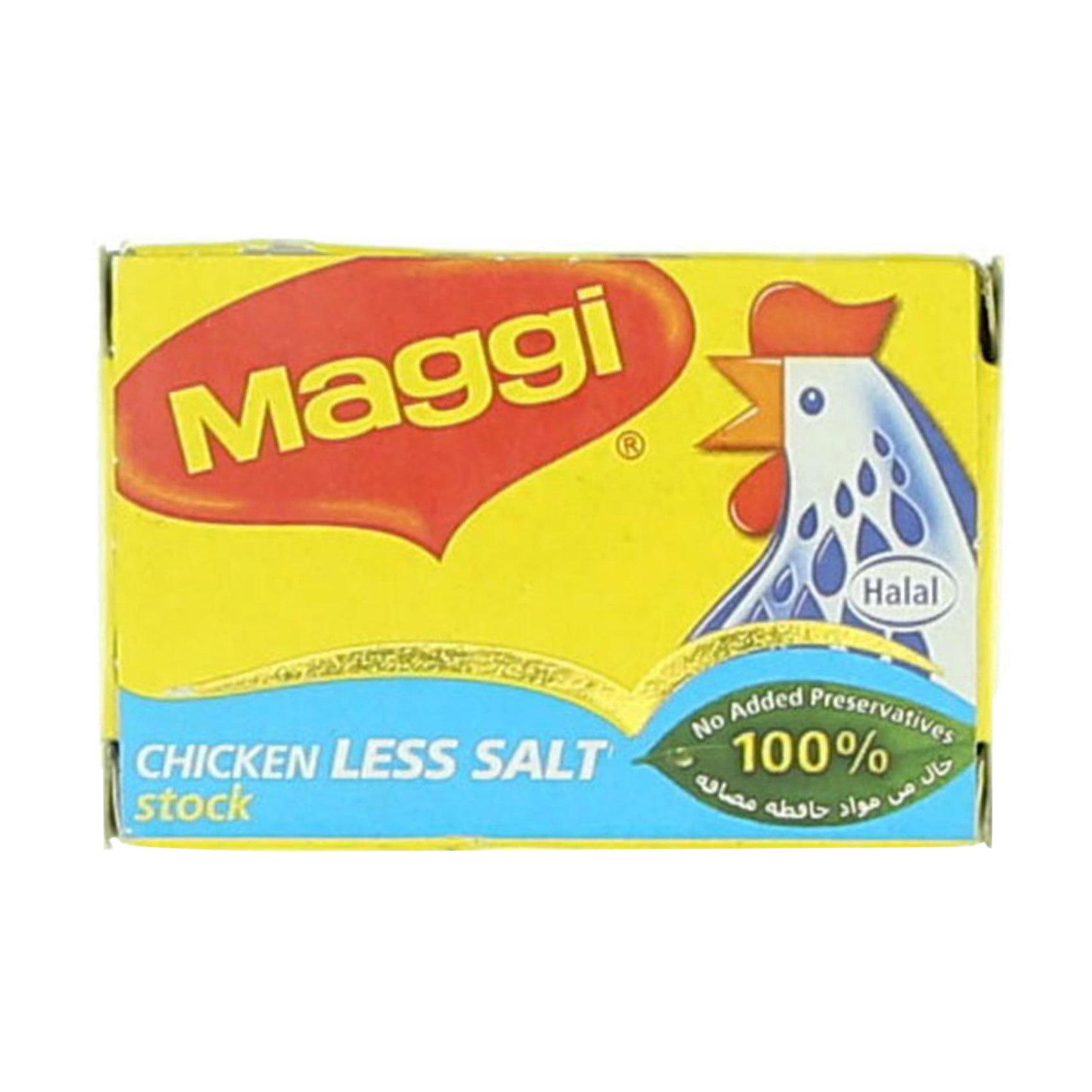 MAGGI CUBE CHICKEN L/SALT 20G