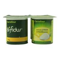 Carrefour Lemon Flavor Bifidus 125gx4