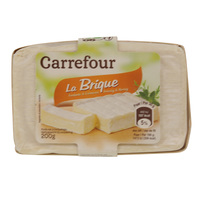 Carrefour Cow Brick Pack 200g