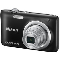 Nikon Compact Camera Coolpix A100 Black + Case