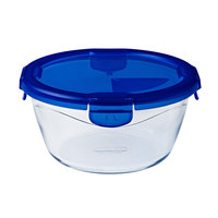 Pyrex Cook&Go Round W/Lid 0.7L