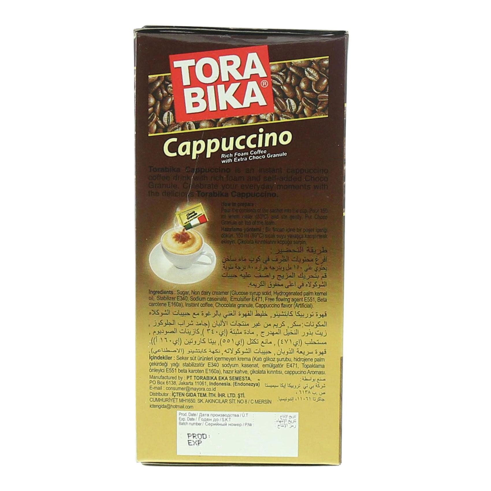 TORABIKA CAPPUCCINO 25GX5
