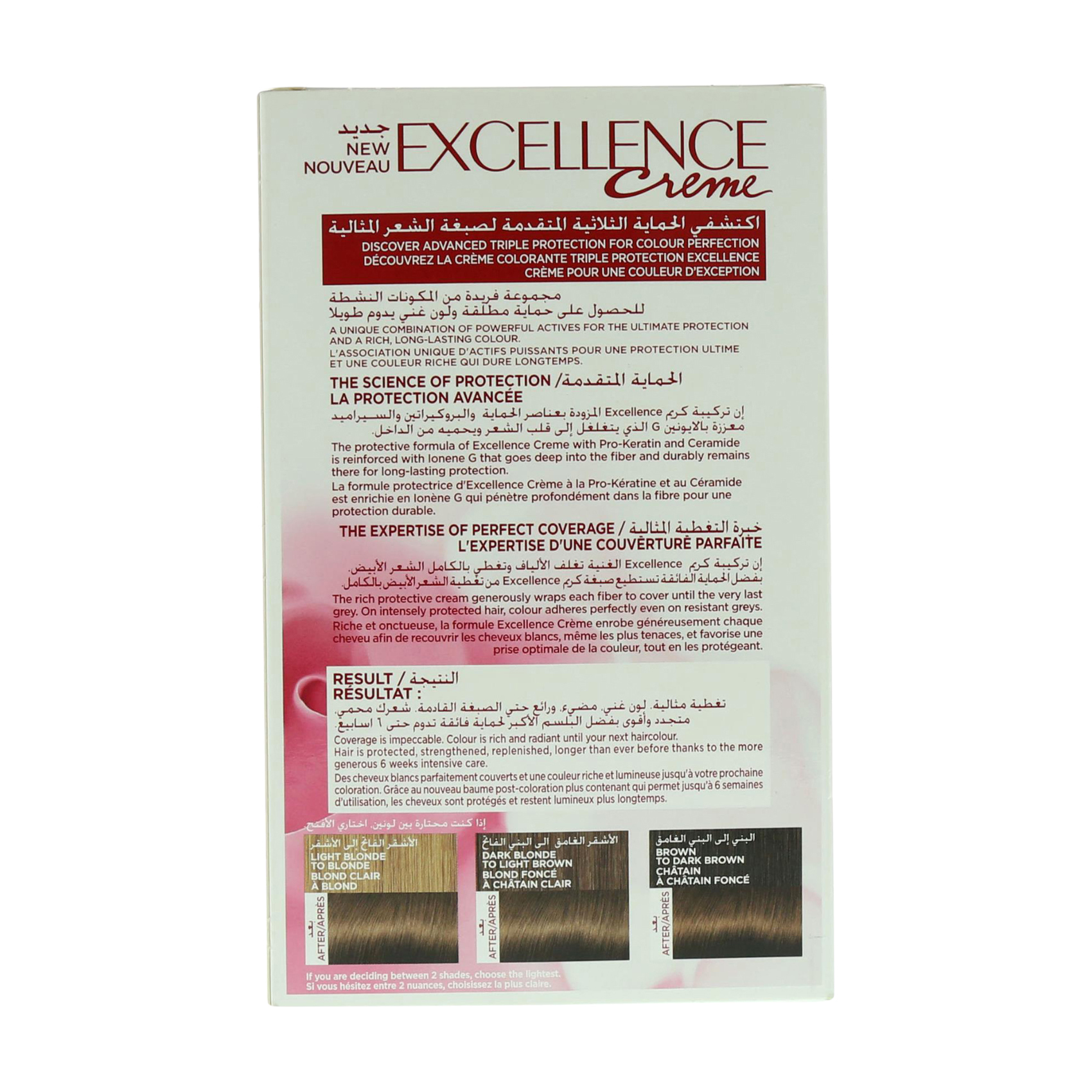 EXCELLENCE 6 NATURAL DARK BLONDE
