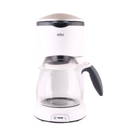 BRAUN Coffee Maker KF520 10 Cup White