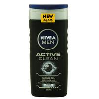 Nivea Men Active Clean Shower Gel 250ml
