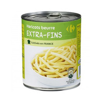 Carrefour Butter Beans Green 440GR