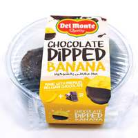 Del Monte Chocolate-Covered Banana Slices