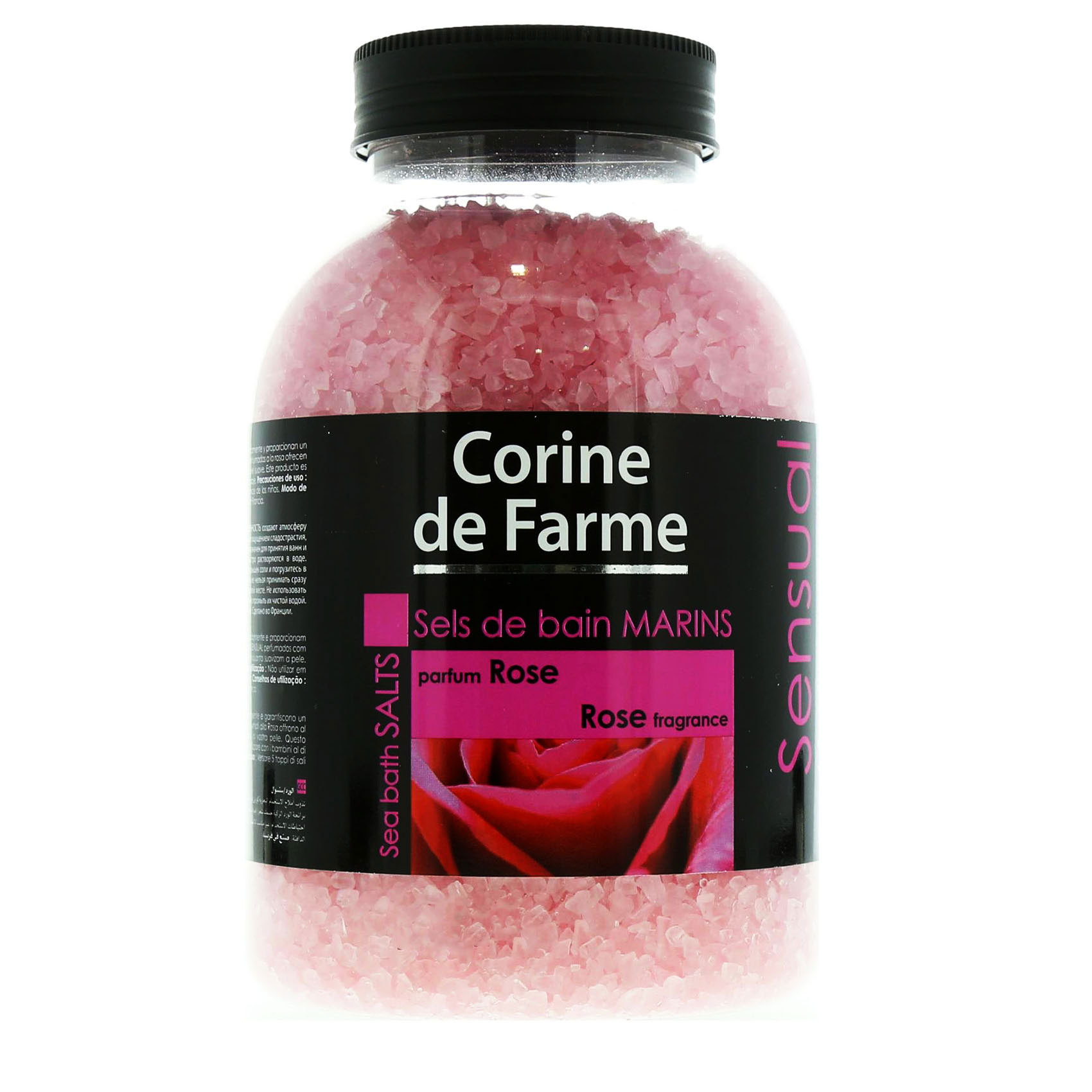 CDF BATH SEA SALTS ROSE 1.3KG