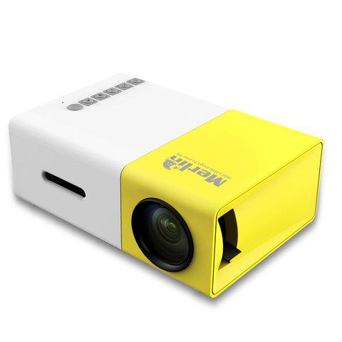 Merlin-LCD-Pocket-Projector