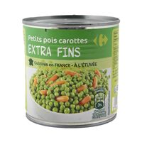 Carrefour Peas And Carrot 265 Gram