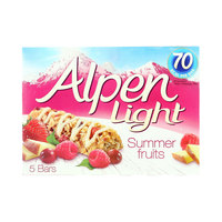 Alpen Light Summer Fruits (5x95g)