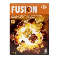 Carrefour Cereal Fusion Caramel Chocolate 375g